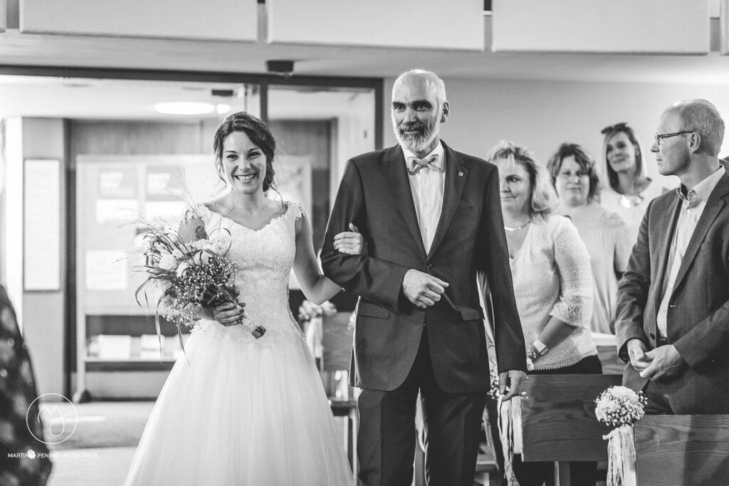 Hochzeit, Brautpaar, Kirche, Trauung